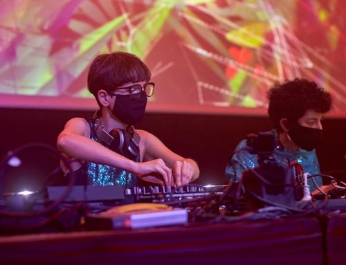 "VJ set para ""She Makes Noise"" Festival 2020"