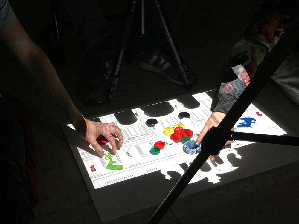 Stop Motion Visuales Nidra Video Mapping Proyección animación