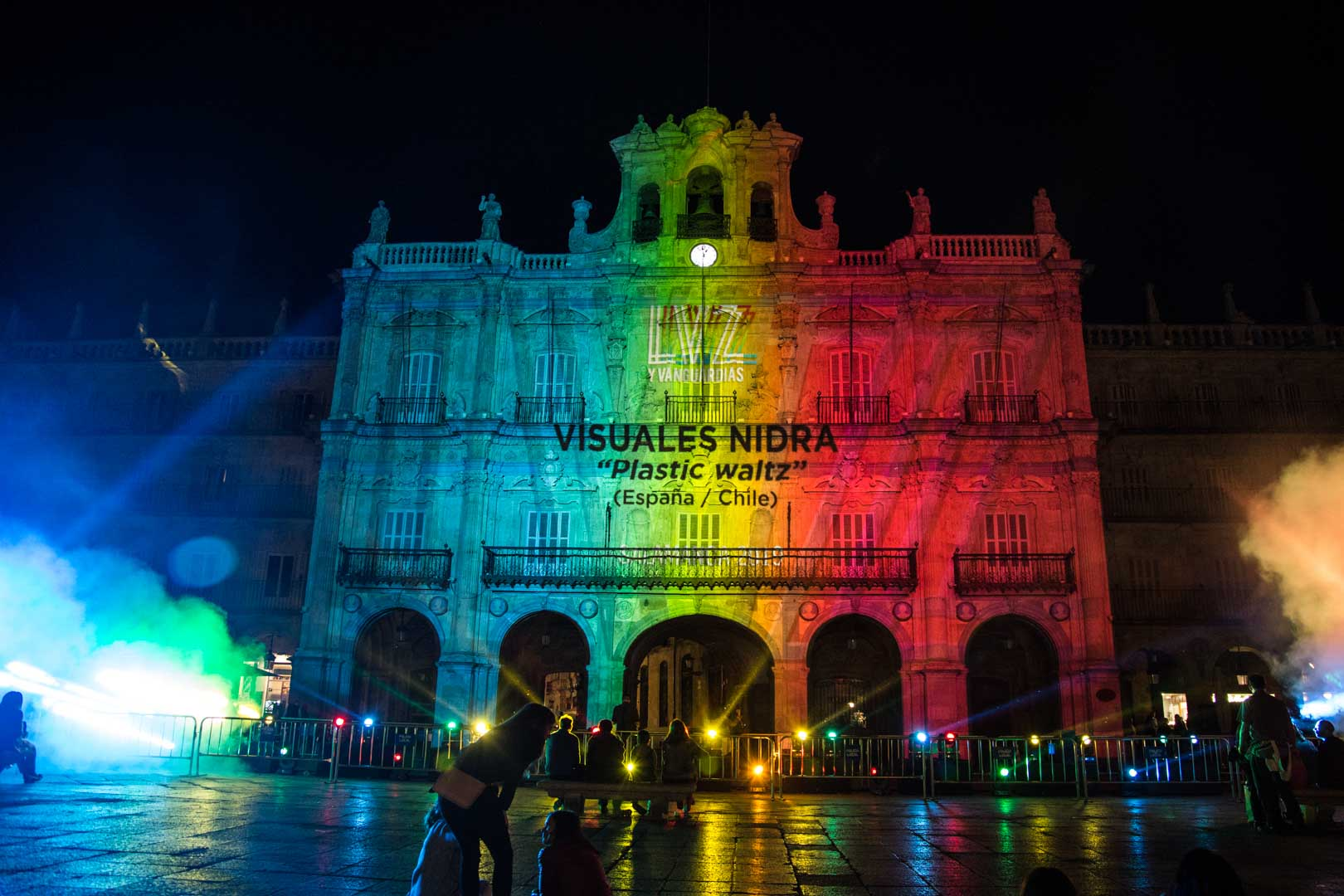 Visuales Nidra Festival Luz y Vanguardias Salamanca 2019 España Video Mapping