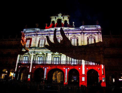 Video Mapping Festival de Luz y Vanguardia 2019 Salamanca, España