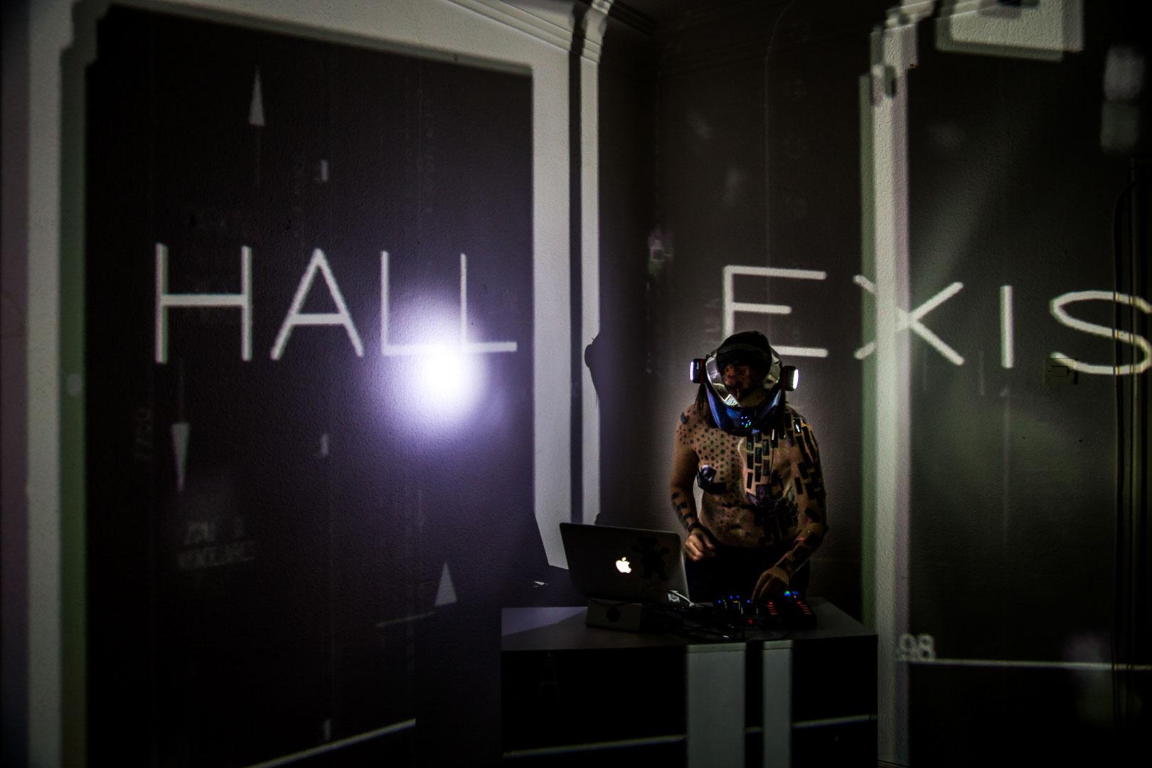 Visuales Nidra Eternity immersive projections mapping vj Christel Bocksang