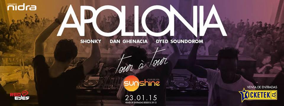 Apollonia Shonky Dan Ghenacia sunshine club del sol chile Visuales Nidra