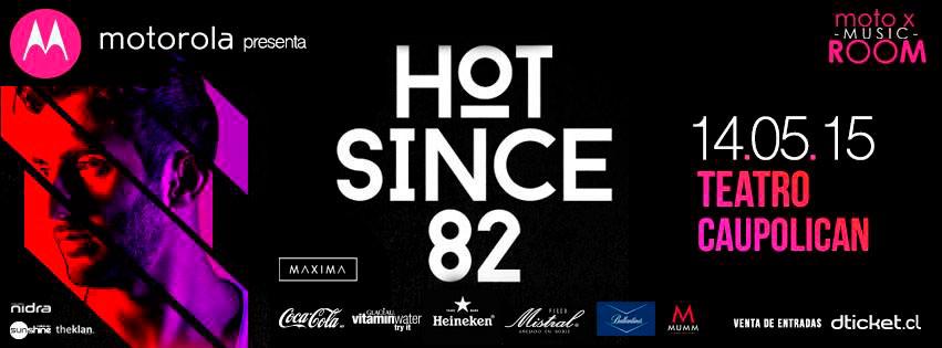 Hot Since 82 Motorola Teatro Caupolican Santiago de Chile Visuales Nidra