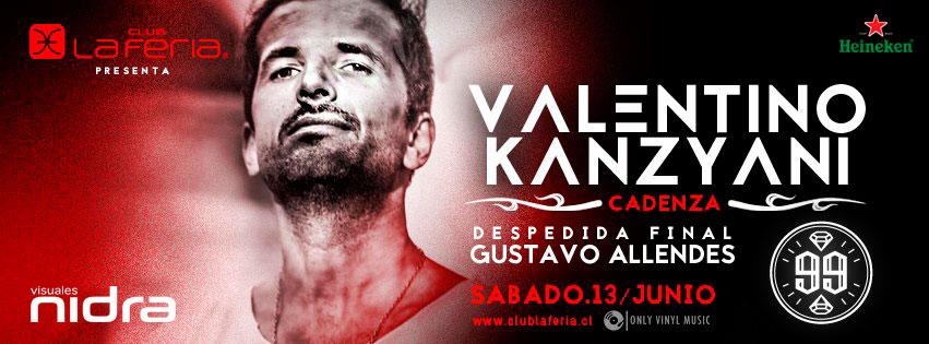 Valentino Kanzyani Allendes Club La Feria Santiago de Chile Visuales Nidra