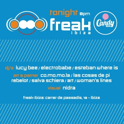 Freak Ibiza Club Visuales Nidra