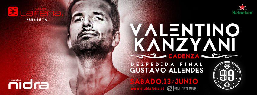 Valentino Kanzyani Club La Feria Cadenza Visuales Nidra Gustavo Allendes 99